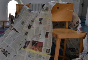 Zeitungszelt
